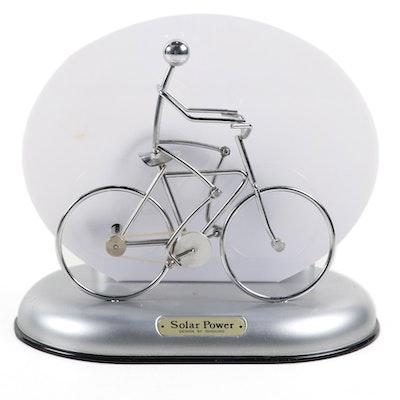 "Ishiguro ""Cyclist"" Solar Power Chrome Motion Lamp, 2007"