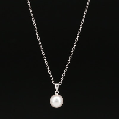 Mikimoto 18K Pearl Necklace