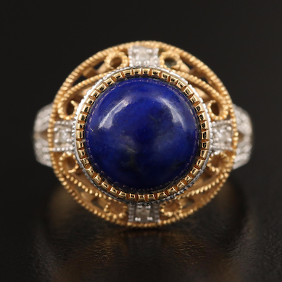 Le Vian 18K Lapis Lazuli and Diamond Ring