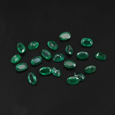 Loose 9.88 CTW Emerald Selection