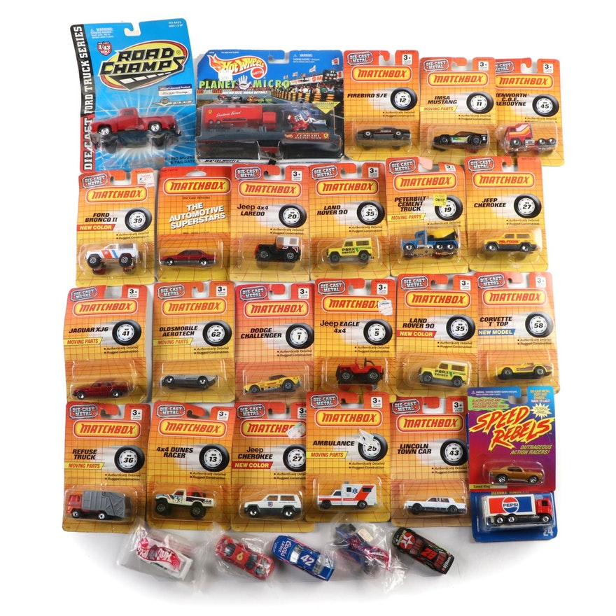 Matchbox, Hot Wheels and Other Die Cast Cars