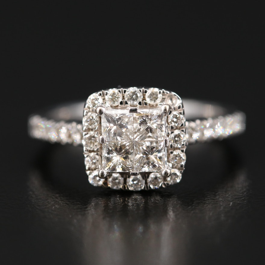14K 1.02 CTW Diamond Ring