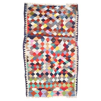 4'9 x 8'5 Handwoven Persian Kilim Area Rug