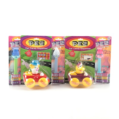 """PEZ """"Trolls"""" and Car Candy Dispensers"""