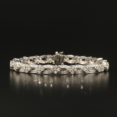 14K 3.20 CTW Diamond Bracelet
