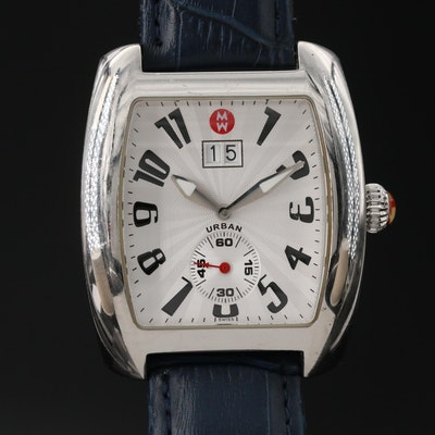 Michele Urban Stainless Steel Quartz Wristwatch