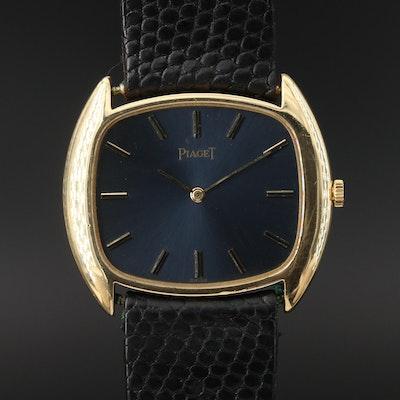 Vintage Piaget 18K Yellow Gold Stem Wind Wristwatch
