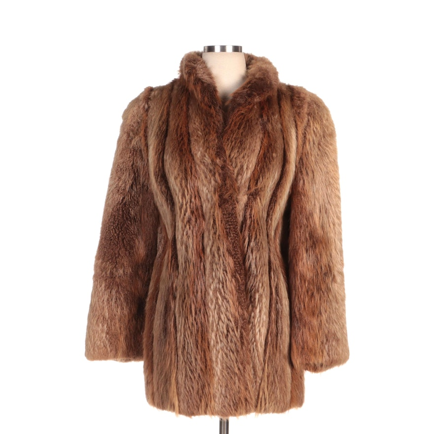 Canadian Beaver Fur Coat from Alan Furs