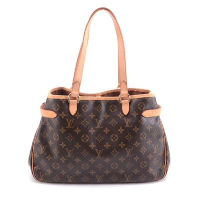 Louis Vuitton Batignolles Horizontal Shoulder Bag in Monogram Canvas