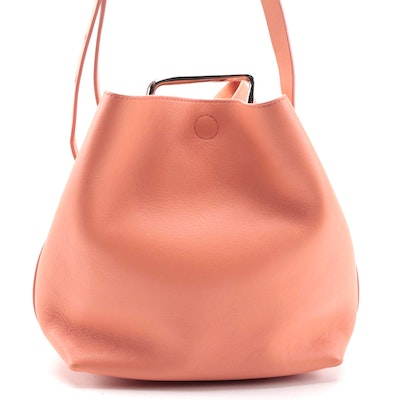 3.1 Phillip Lim Quill Mini Bucket Bag in Sherbert Leather