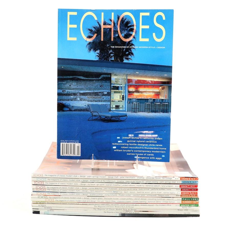 """""""Echoes"""" Modern Design Magazine, 1996–2000"""