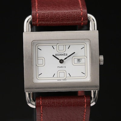Hermès Berenia Stainless Steel Quartz Wristwatch