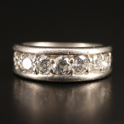 Platinum 1.05 CTW Diamond Band