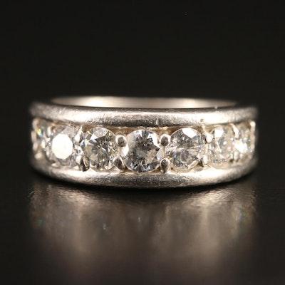 Platinum 1.05 CTW Diamond Band