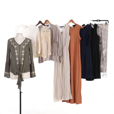 Tahari, Cabi, Blu Pepper, and More Dresses, Tops, Cardigan and Shawl