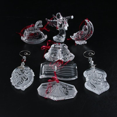 Waterford Crystal Annual Christmas Ornaments