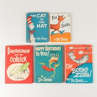 Dr Seuss Books Including First Editions and Early Printings 1949-1965
