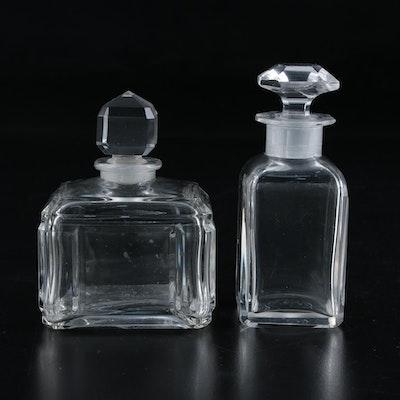 Baccarat Crystal Perfume Bottles