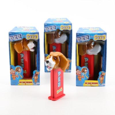 """PEZ """"Pez For Pets"""" Dog Treat Dispensers"""