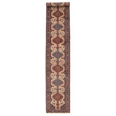 5'2 x 18'4 Hand-Knotted Persian Luri Wool Carpet Runner