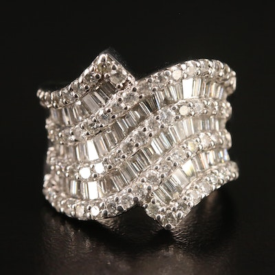 18K 2.04 CTW Diamond Band