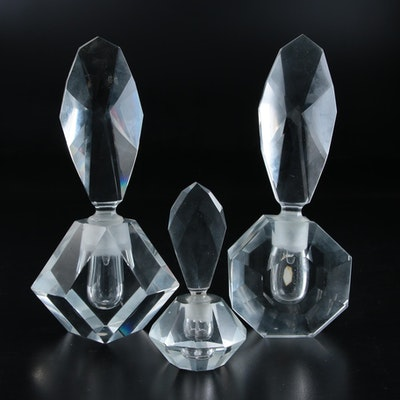 Tilso, Ucagco and Other Glass Perfume Bottles, Mid to Late 20th Century