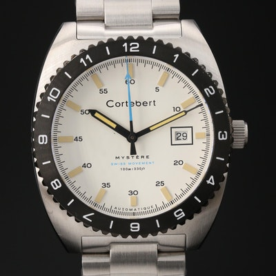 "Cortebert ""Mystère"" Limited Edition Stainless Steel Automatic Wristwatch"