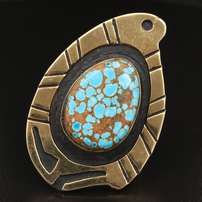 Western Style Turquoise Ring