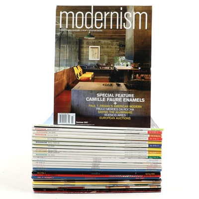 """""""The Modernism Magazine"""" Collection 1998-2007"""