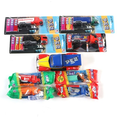 PEZ Die Cast Metal Truck and Other Truck Dispensers