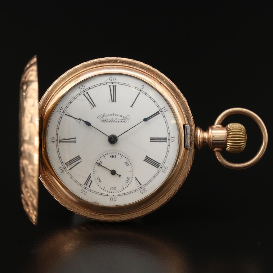 1894 American Waltham Hunting Case Pocket Watch