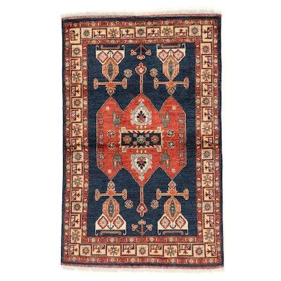 3'4 x 5'5 Hand-Knotted Persian Kolyai Area Rug
