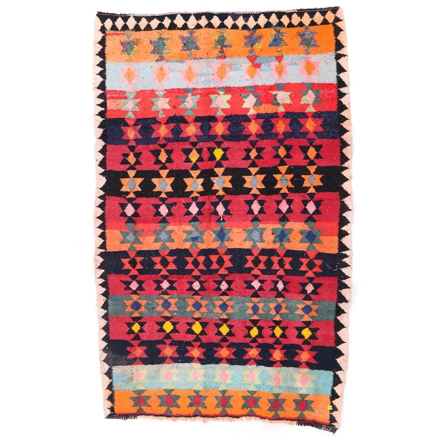 6' x 9'9 Handwoven Persian Kilim Wool Rug