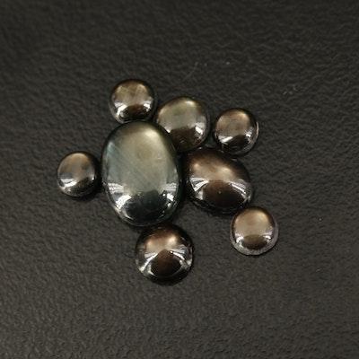 Loose Black Star Sapphires