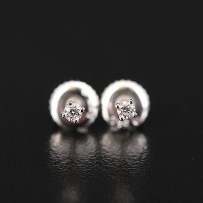 14K 0.06 CTW Diamond Stud Earrings