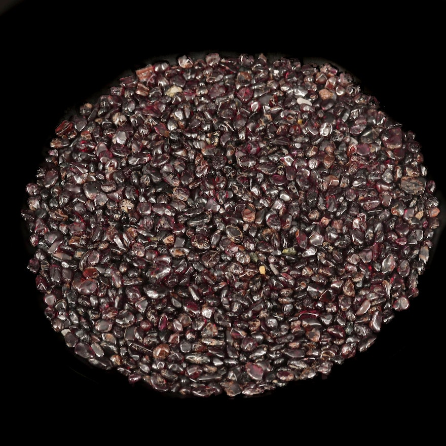 Loose 1866.31 CTW Tumbled Garnets