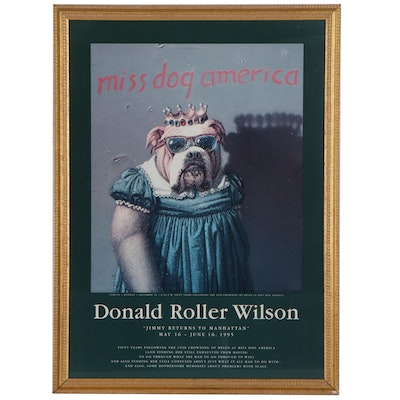 "Offset Lithograph Poster after Donald Roller Wilson ""Miss Dog America"""