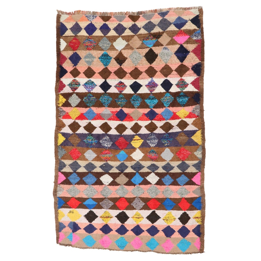 4'5 x 7'4 Handwoven Persian Kilim Area Rug