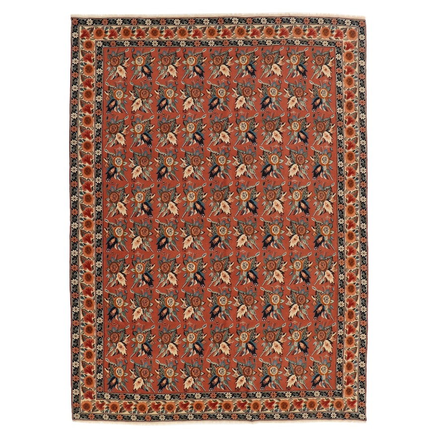 8' x 12' Hand-Knotted Turkish Room Sized Rug