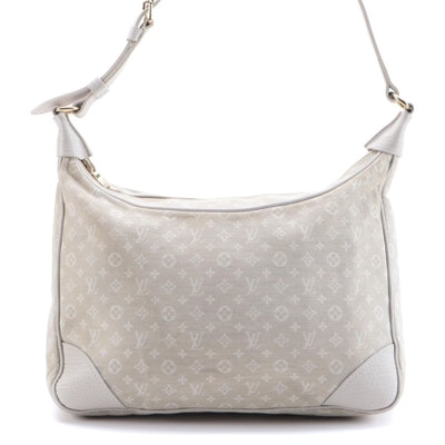 Louis Vuitton Boulogne Hobo Bag in Dun Monogram Idylle Canvas and Leather