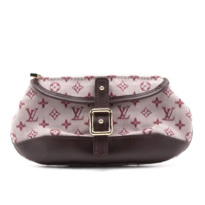Louis Vuitton Anne Sophie Clutch in Cherry Mini Lin Monogram Canvas