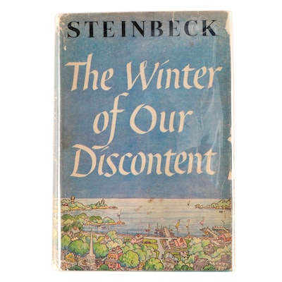 "First Book Club Edition ""The Winter of Our Discontent"" by John Steinbeck, 1961"