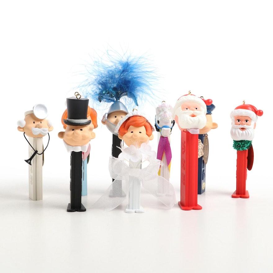PEZ Dispenser Themed Christmas Ornaments