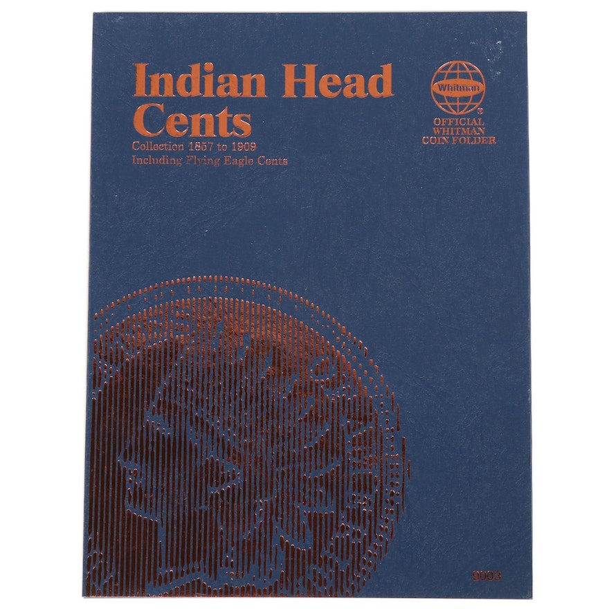 Whitman U.S. Coin Folder of Indian Head Cents, 1857 - 1909