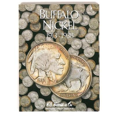 H.E. Harris & Co. Coin Folder 2678: Buffalo Nickel 1913 - 1938