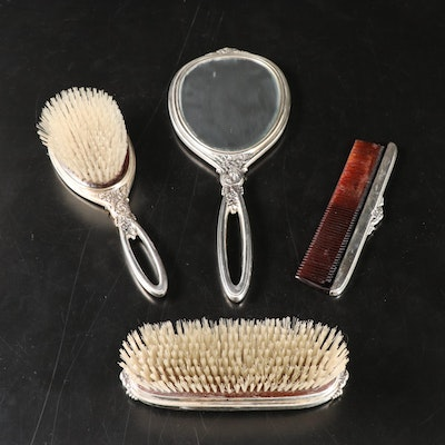 R. Blackinton & Co. Sterling Silver Vanity Set, Early to Mid 20th Century