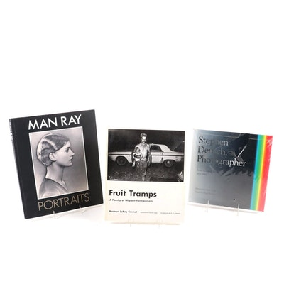 Man Ray, Stephen Deutch, and Herman LeRoy Emmet Photography Books