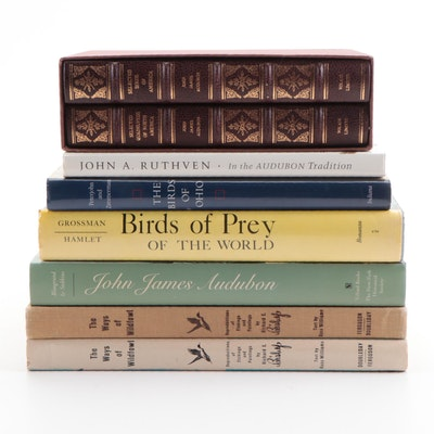 "Signed First Edition ""The Birds of Ohio"" and More Bird and Animal Art Books"
