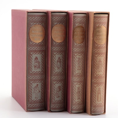 "Heritage Press Charles Dickens Novels Including ""A Tale of Two Cities"""