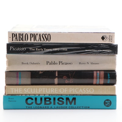 Pablo Picasso and Cubism Art Reference Books